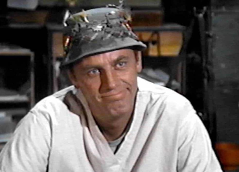 McLean Stevenson (Lt. Henry Blake – MASH)