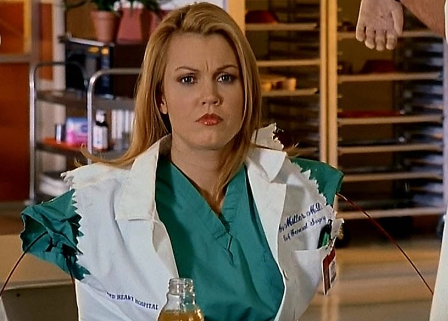Bellamy Young (Dr. Grace Miller – Scrubs)