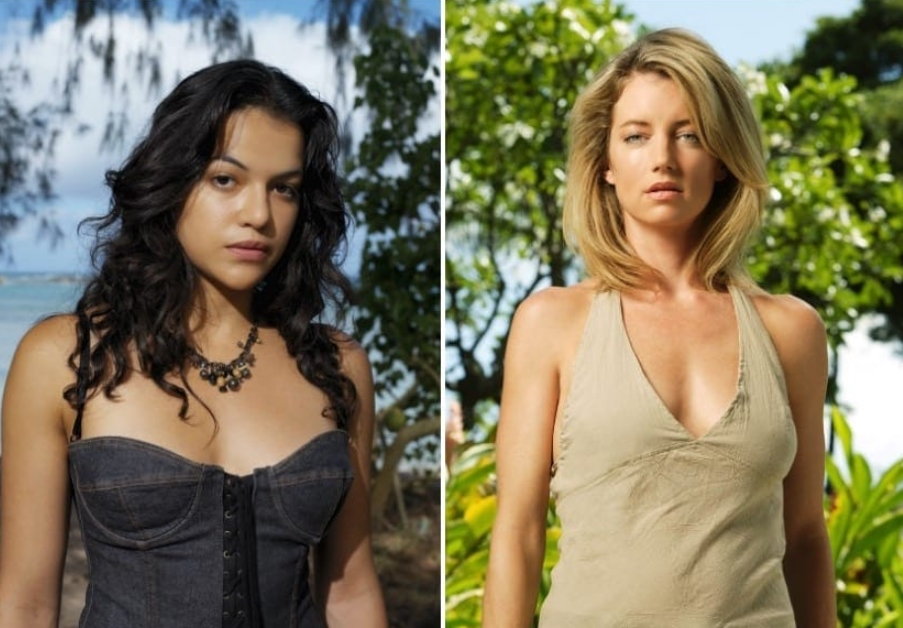 Michelle Rodriguez (Ana Lucia Cortez And Cynthia Watros As Libby Smith – Lost)