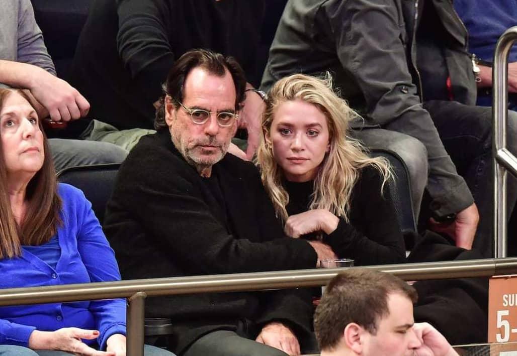 Ashley Olsen And Richard Sachs