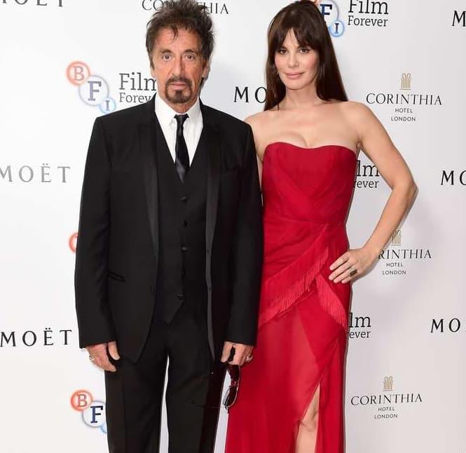 Al Pacino And Lucila Solá