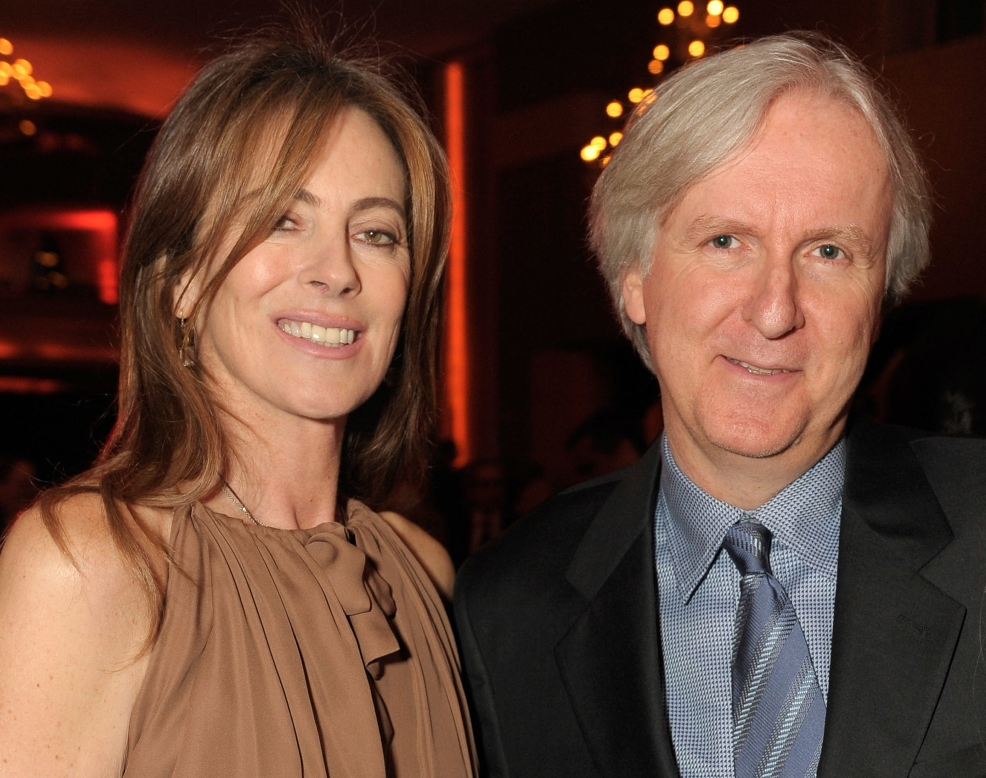 Katheryn Bigalow And James Cameron