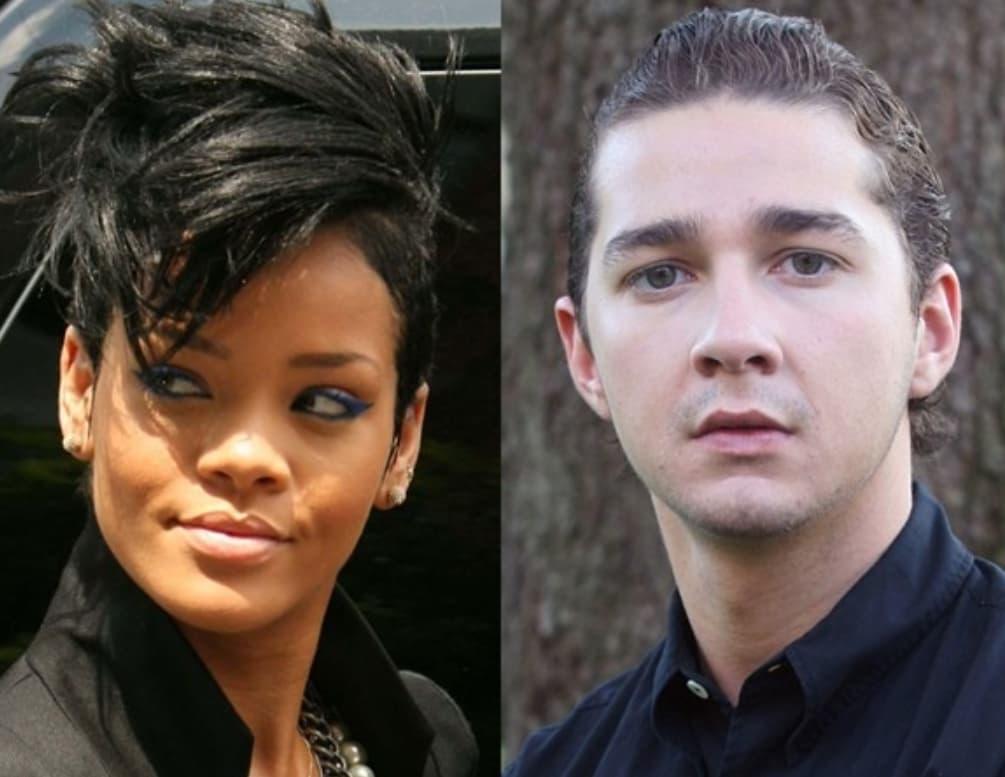 Rihanna And Shia LeBeouf