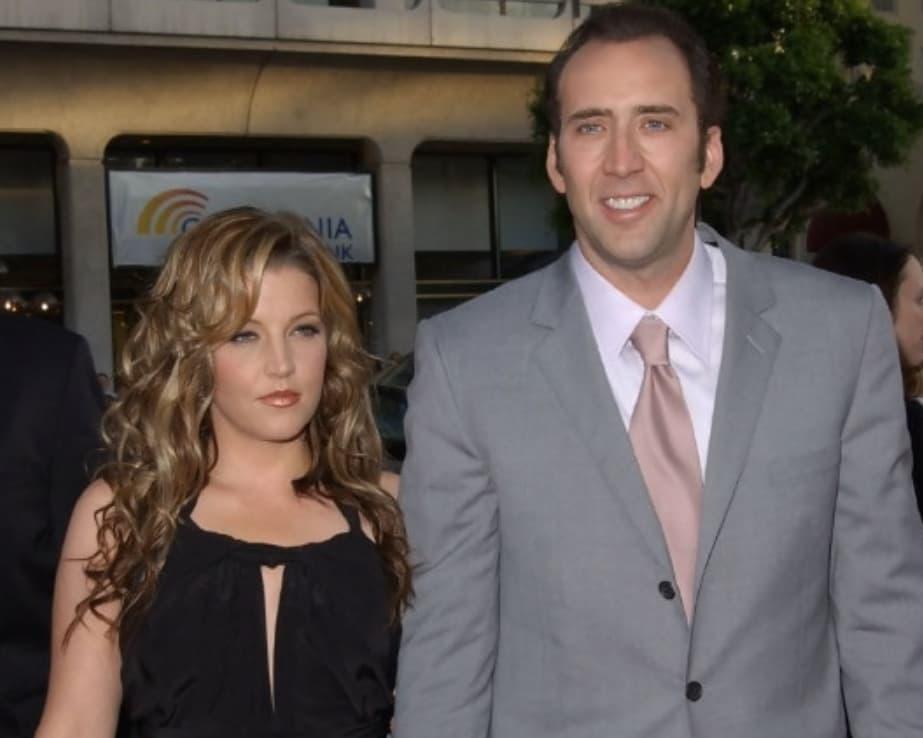 Nicolas Cage And Lisa Marie Presley