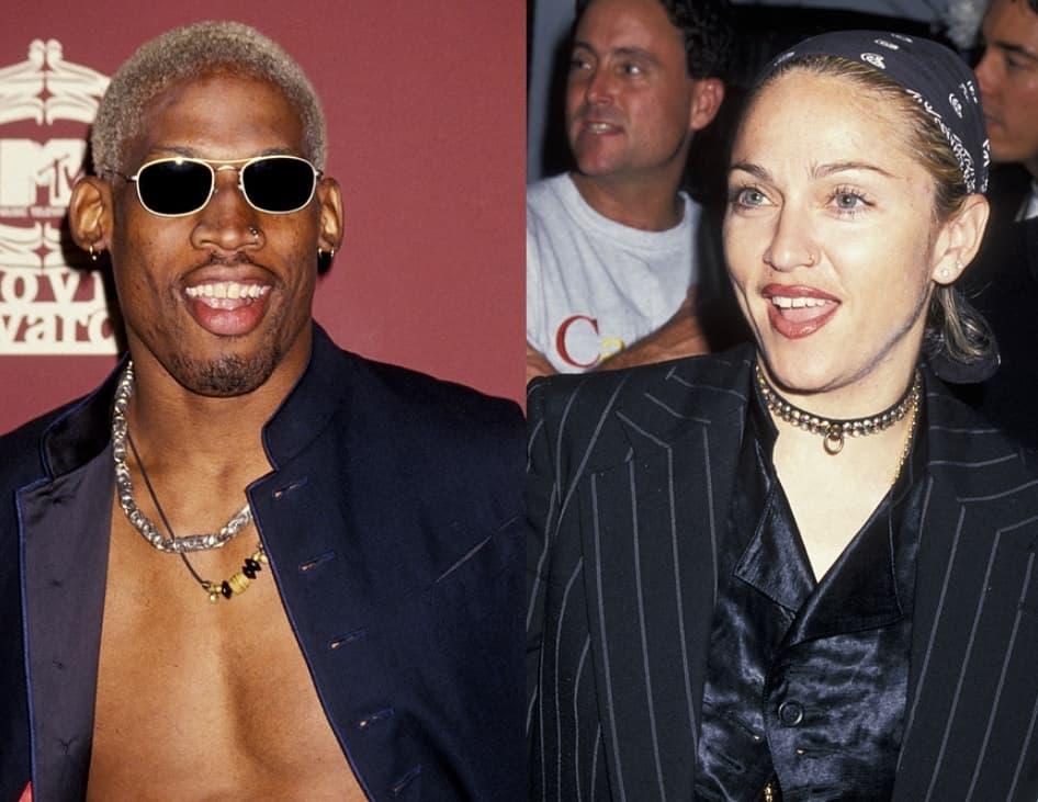 Madonna And Dennis Rodman