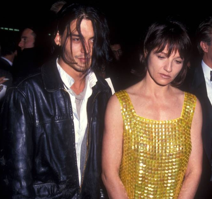 Johnny Depp And Ellen Barkin