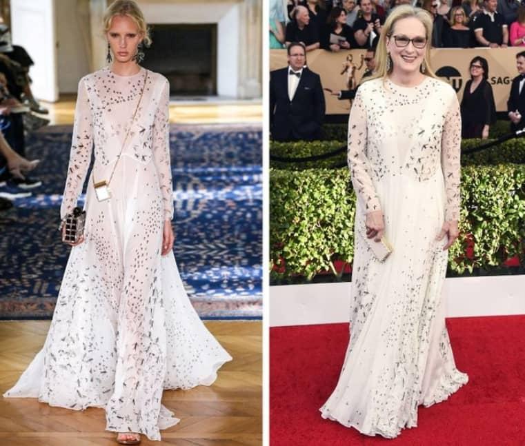 Valentino Meryl Streep