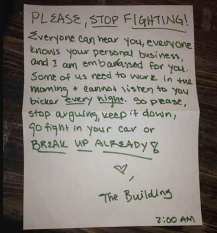 Neighborly Love