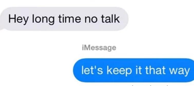 Long Time No Speak