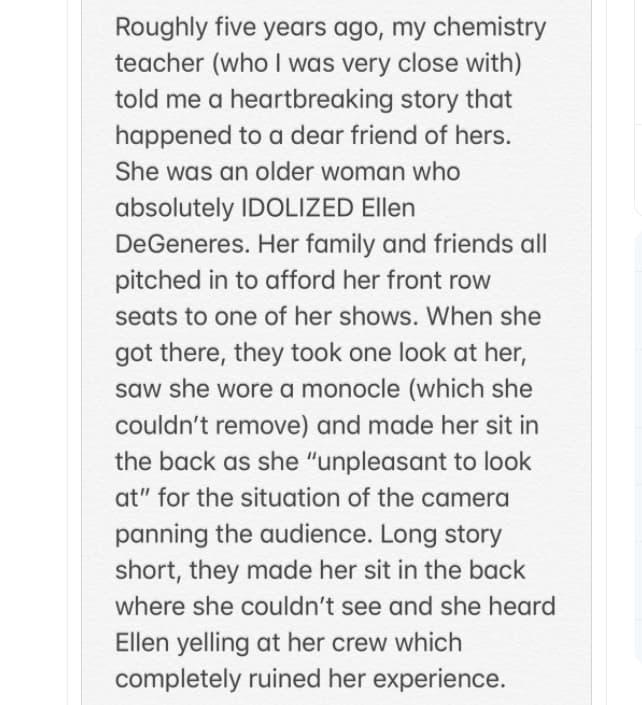 Disturbing Experience