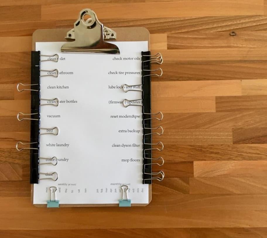 Reusable To Do List