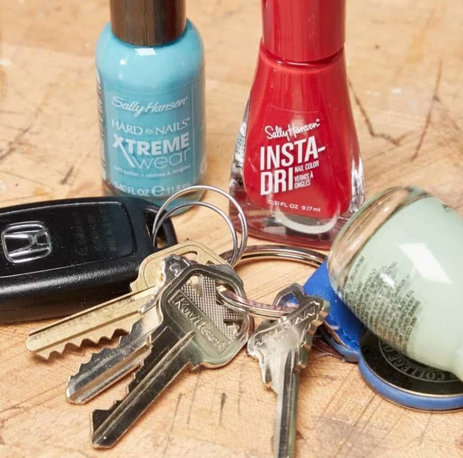 Differentiate Keys