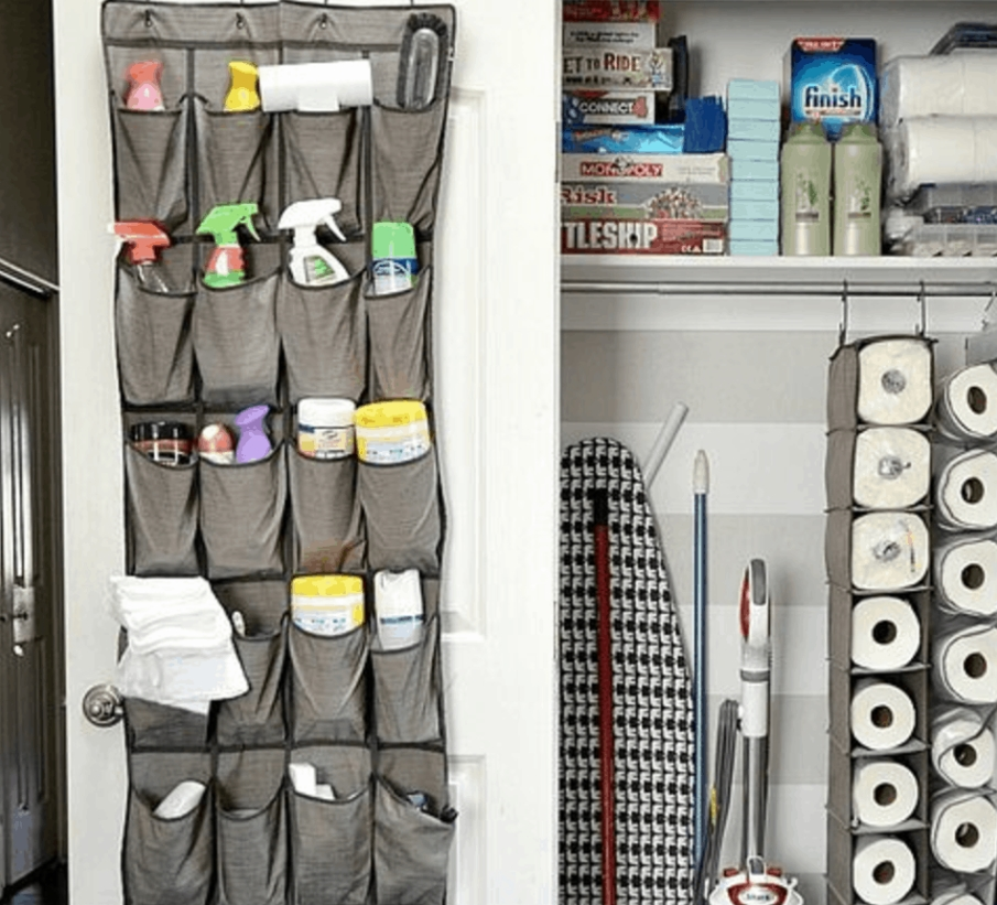 Shoe Racks For Cleaning Supplies