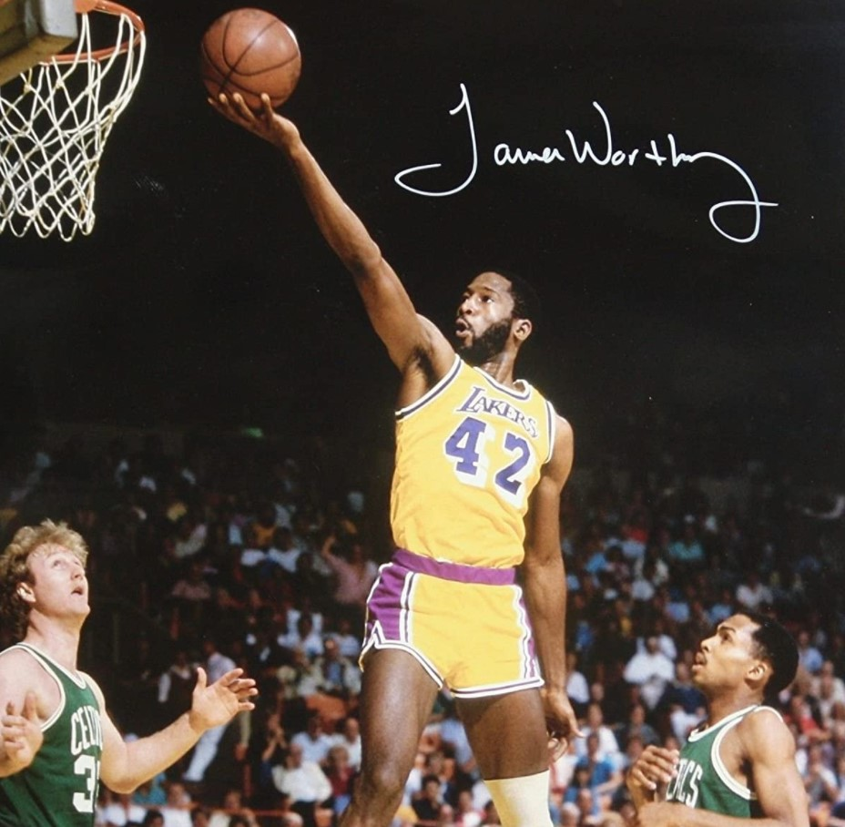 James Worthy North Carolina (1980 1982)
