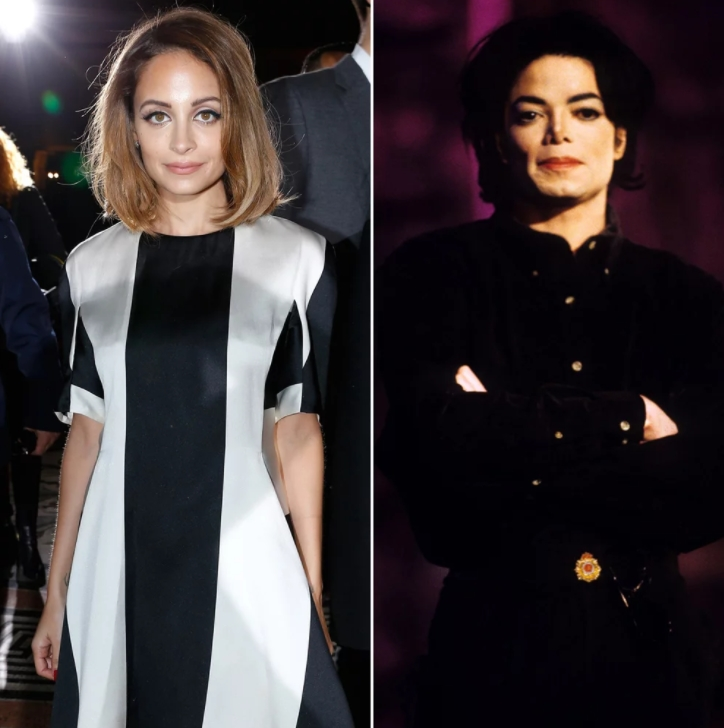 Nicole Richie And Michael Jackson