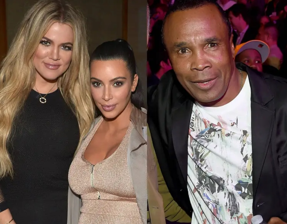 Khloé Kardashian And Sugar Ray Leonard