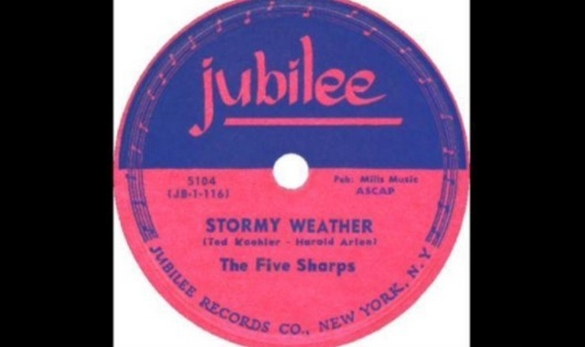 The Five Sharps – Stormy Weather (1952)