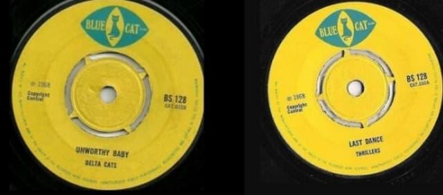 Thriller/Delta Cats, Last Dance/Unworthy Baby (1968)