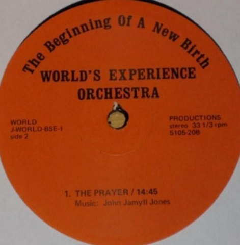 World's Experience Orchestra, The Beginning Of A New Birth (1975)