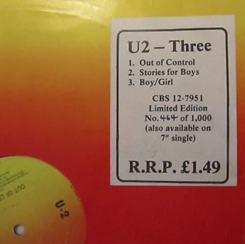 U2 – Three (1979)