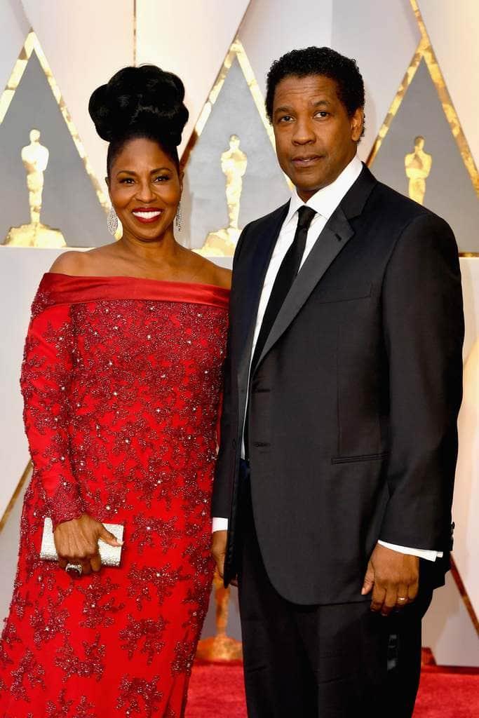 Denzel And Pauletta Washington 35 Years