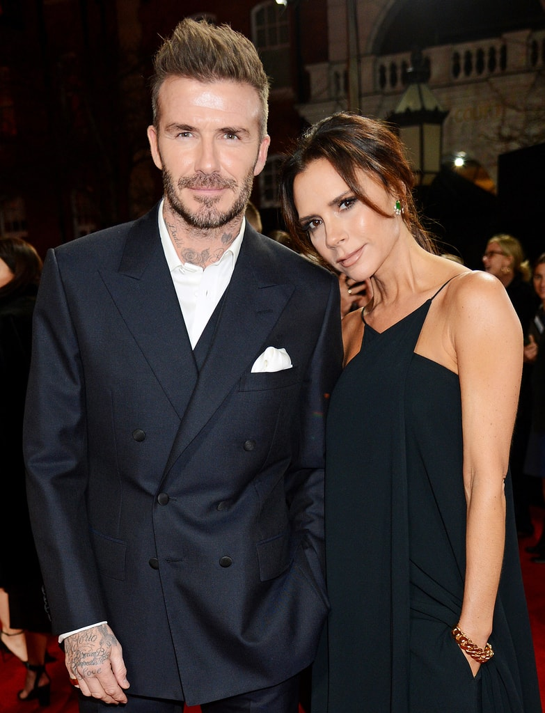 Victoria & David Beckham 19 Years