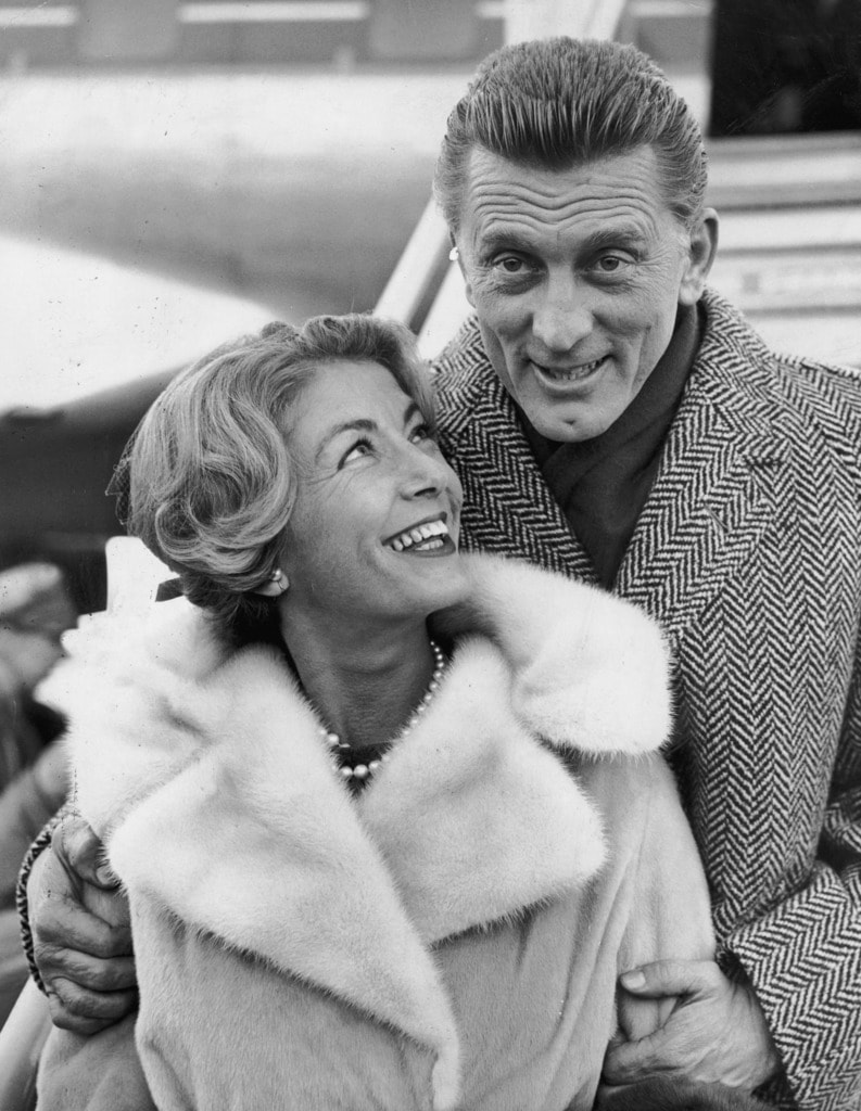 Kirk Douglas & Anne Buydens 64 Years