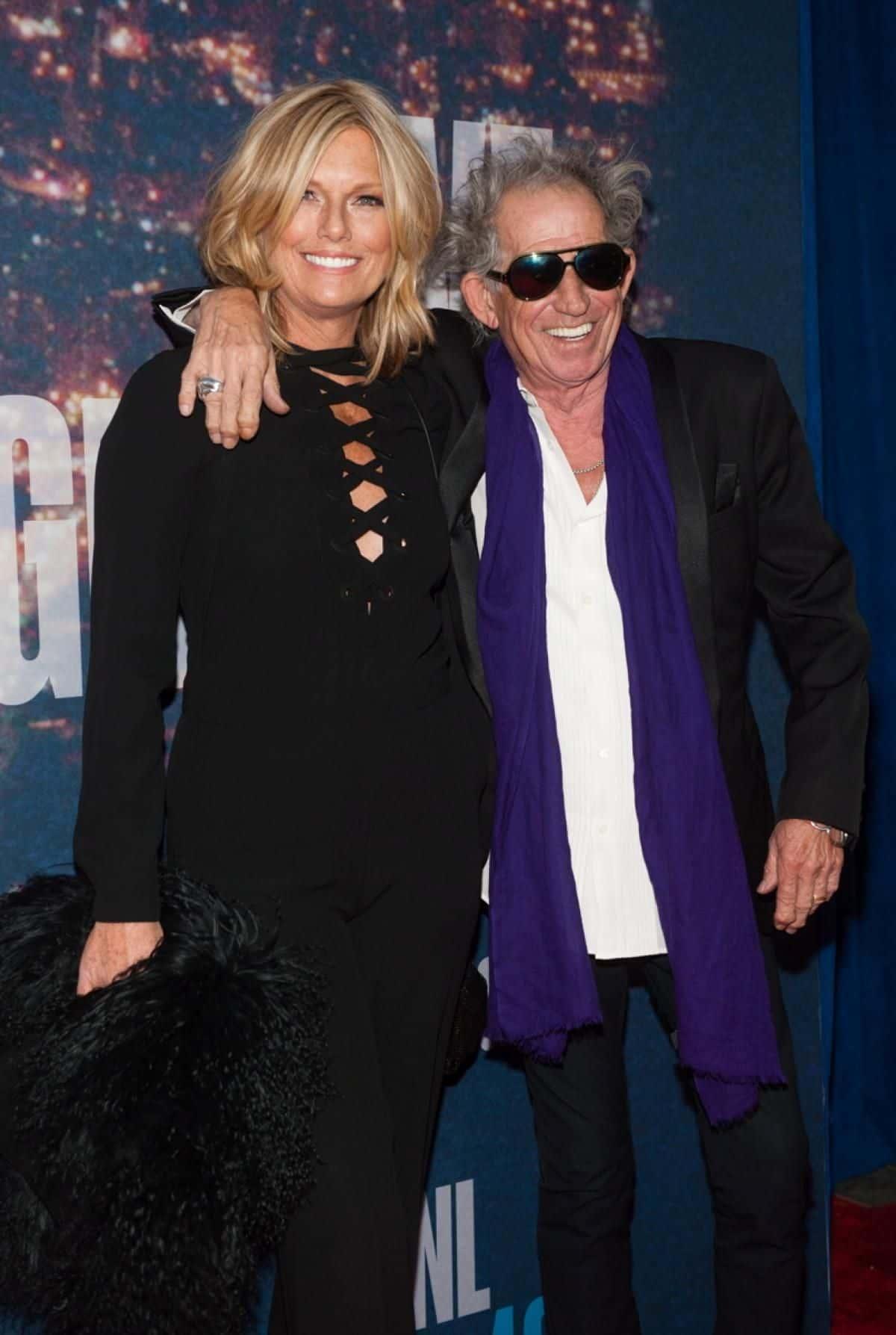 Keith Richards & Patti Hansen 37 Years