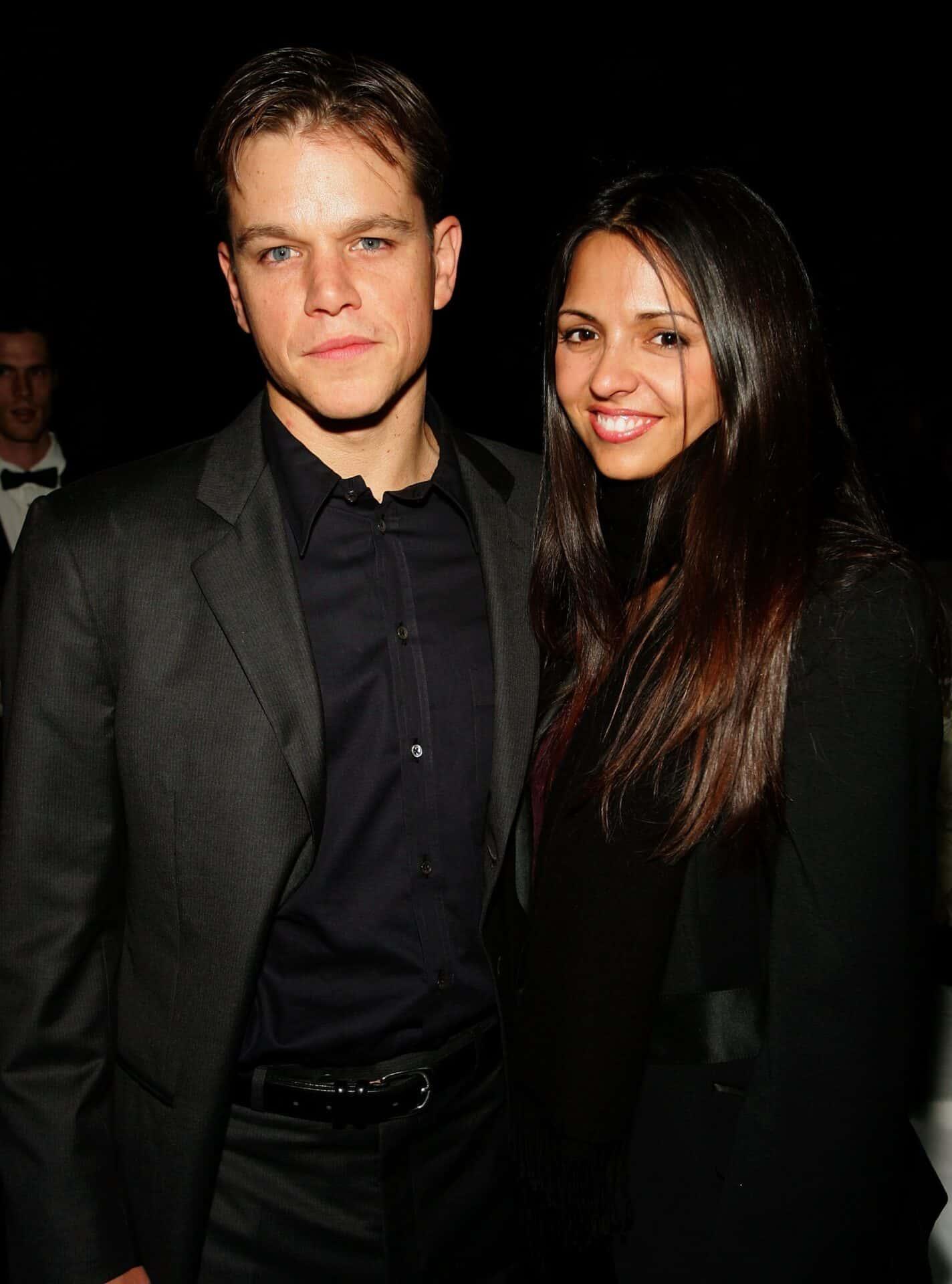 Matt & Luciana Damon 15 Years