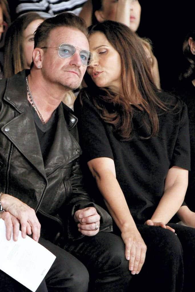 Bono & Alison Hewson 38 Years