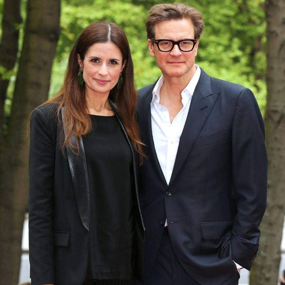 Colin Firth And Livia Giuggioli 23 Years
