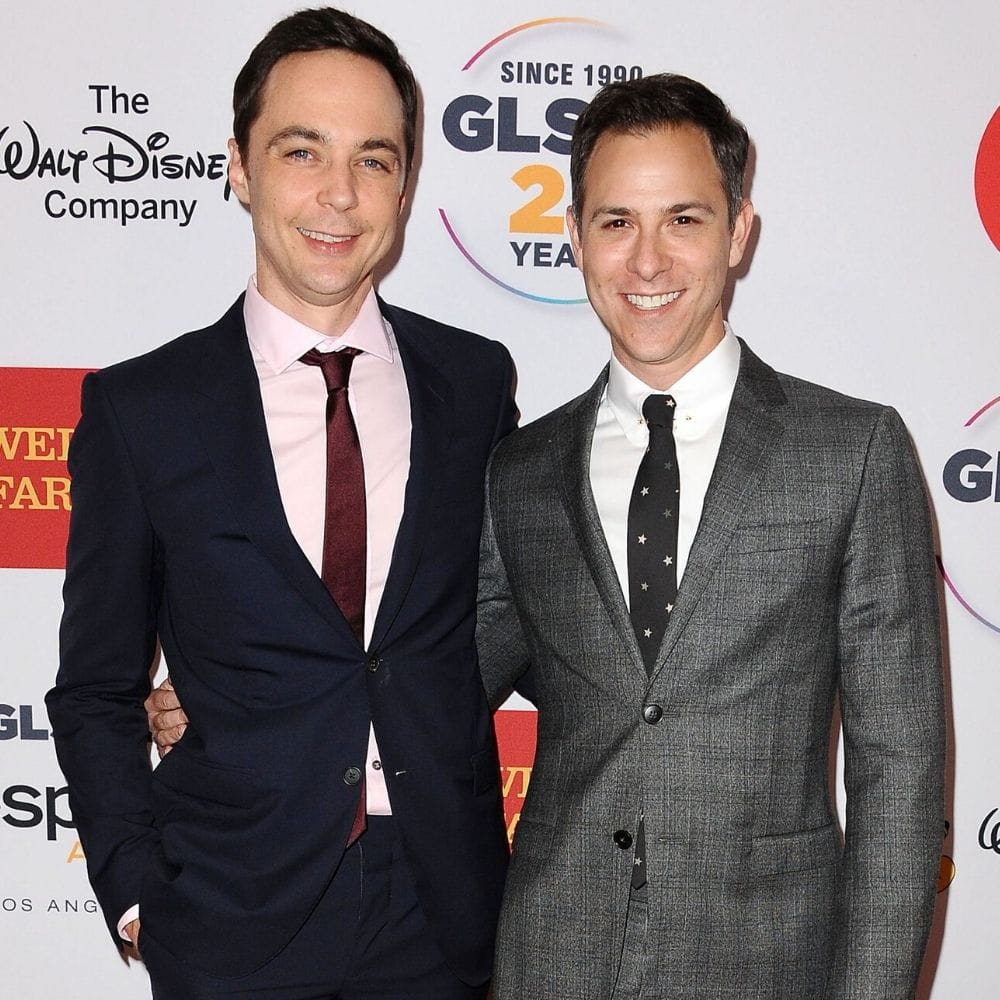 Jim Parsons And Todd Spiewak 3 Years