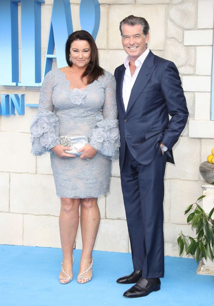 Pierce Brosnan & Keely Shayne Smith 25 Years