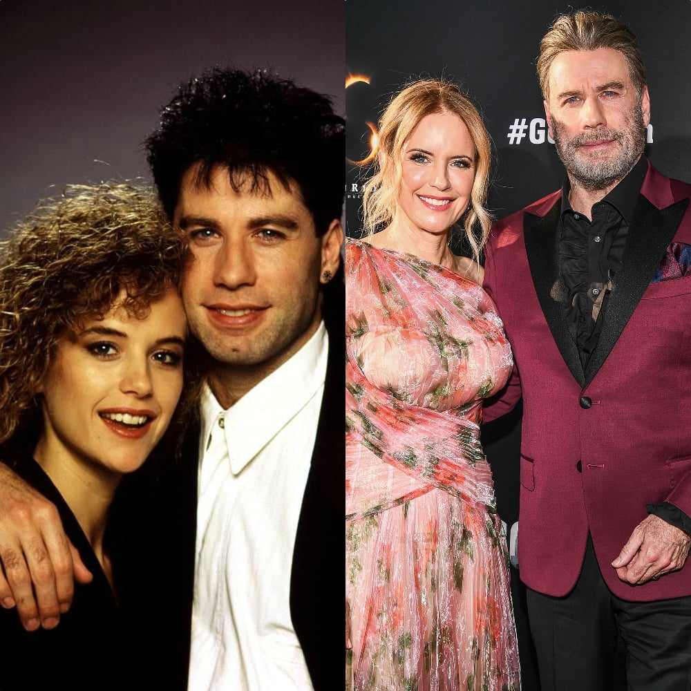 John Travolta & Kelly Preston 29 Years