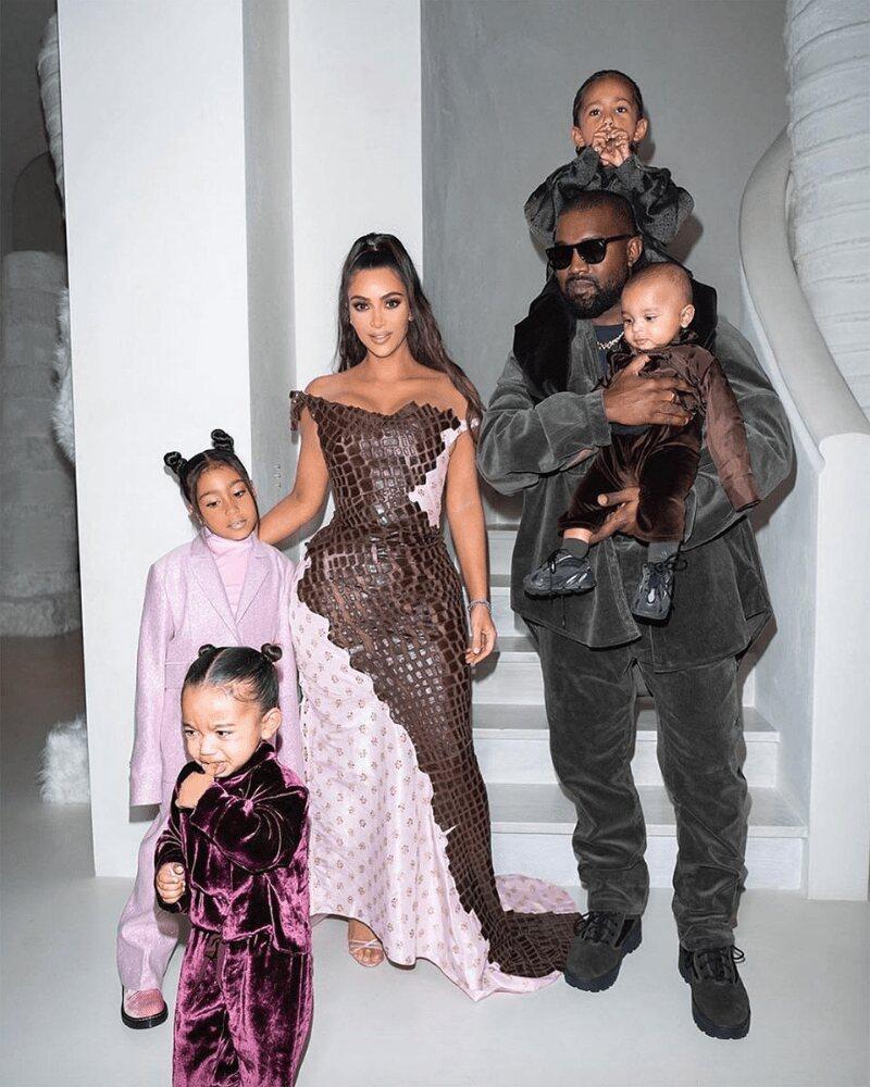 Kanye West & Kim Kardashian 8 Years