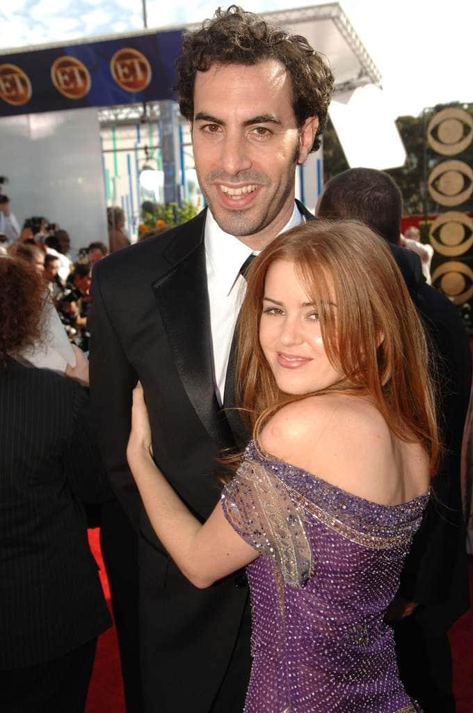 Sacha Baron Cohen And Isla Fisher 18 Years
