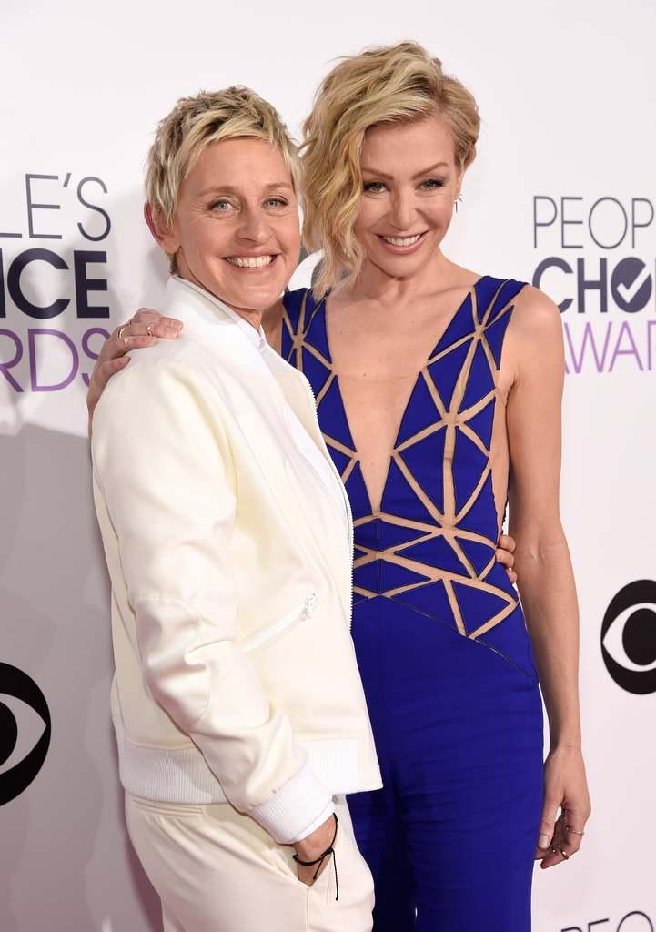 Ellen DeGeneres & Portia De Rossi 14 Years