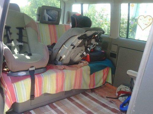 Sheets Under The Car Seats