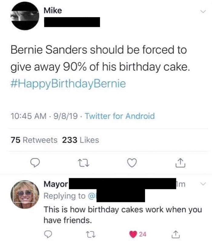 No Birthday Cake For You