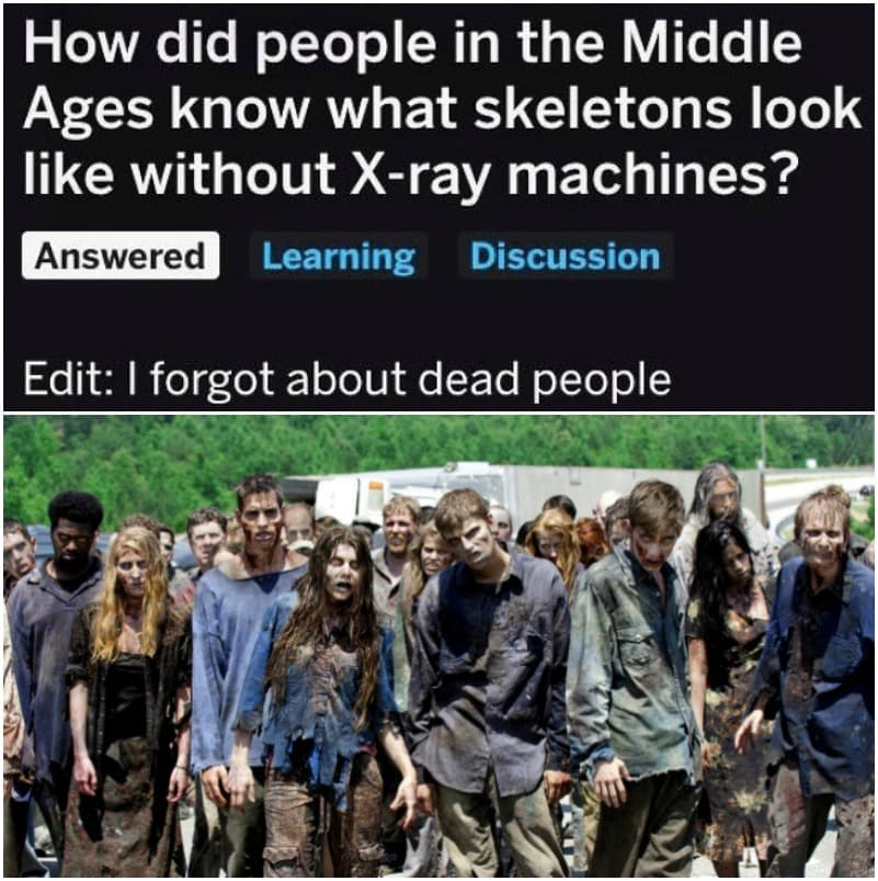 They Didn't Need Machines