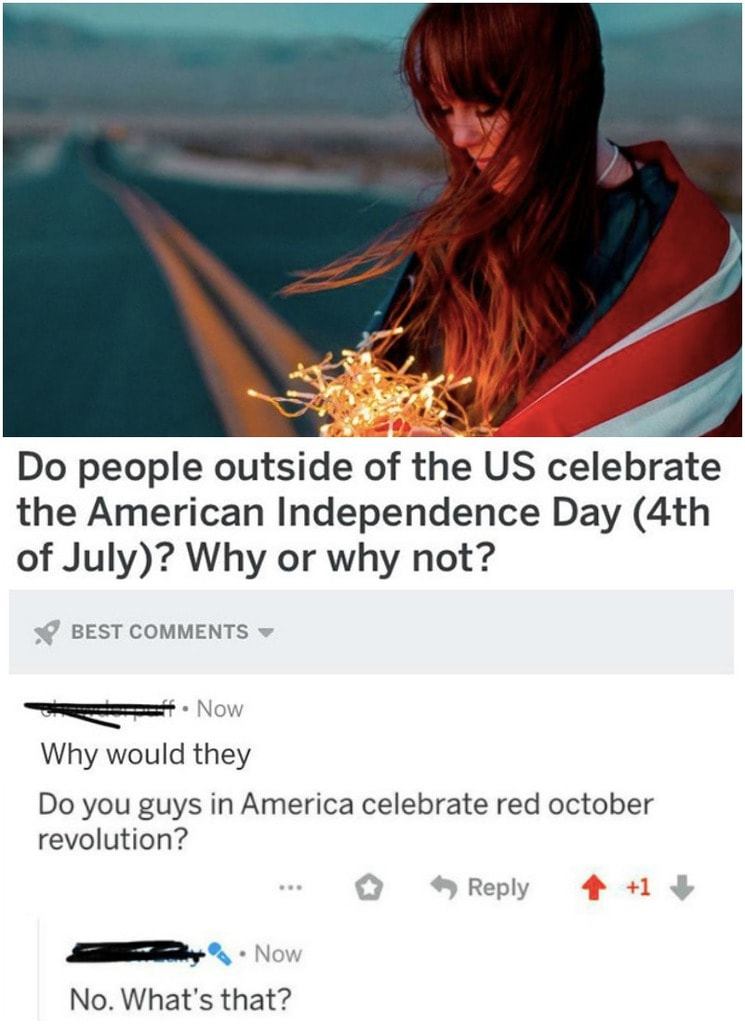 Why Would People Celebrate A Holiday That Has Nothing To Do With Them