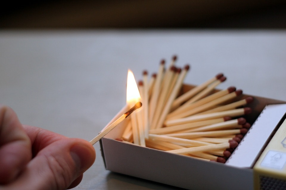 Keep Your Matches Dry