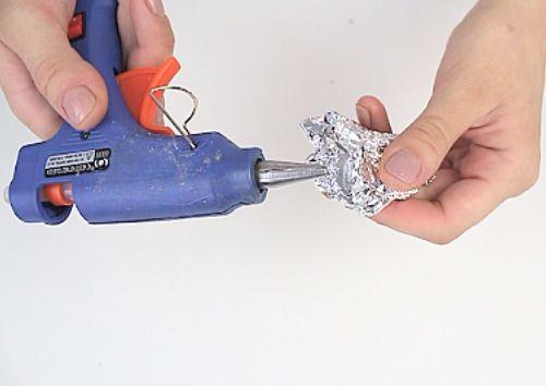 Clean Your Hot Glue Gun