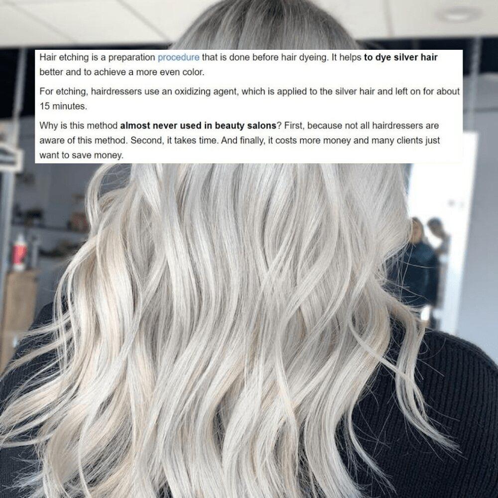 Hair Etching