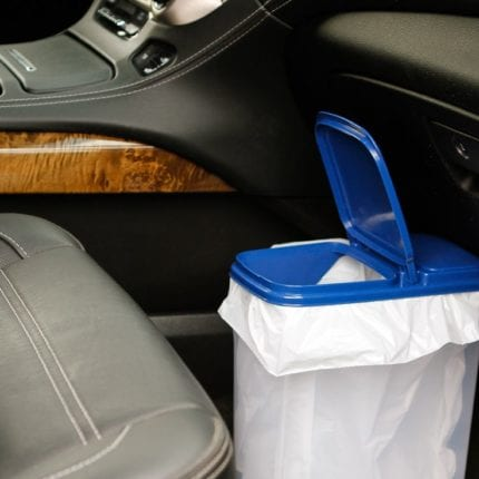 Clean With A Trash Bin