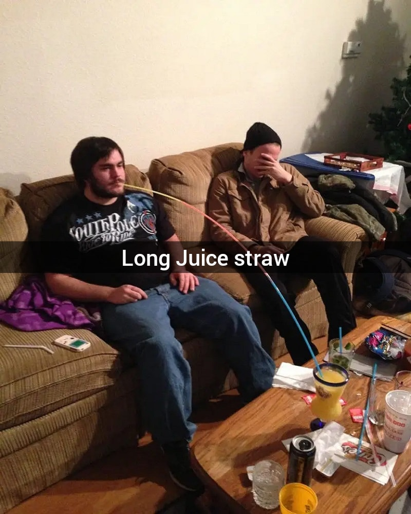The Long Straw