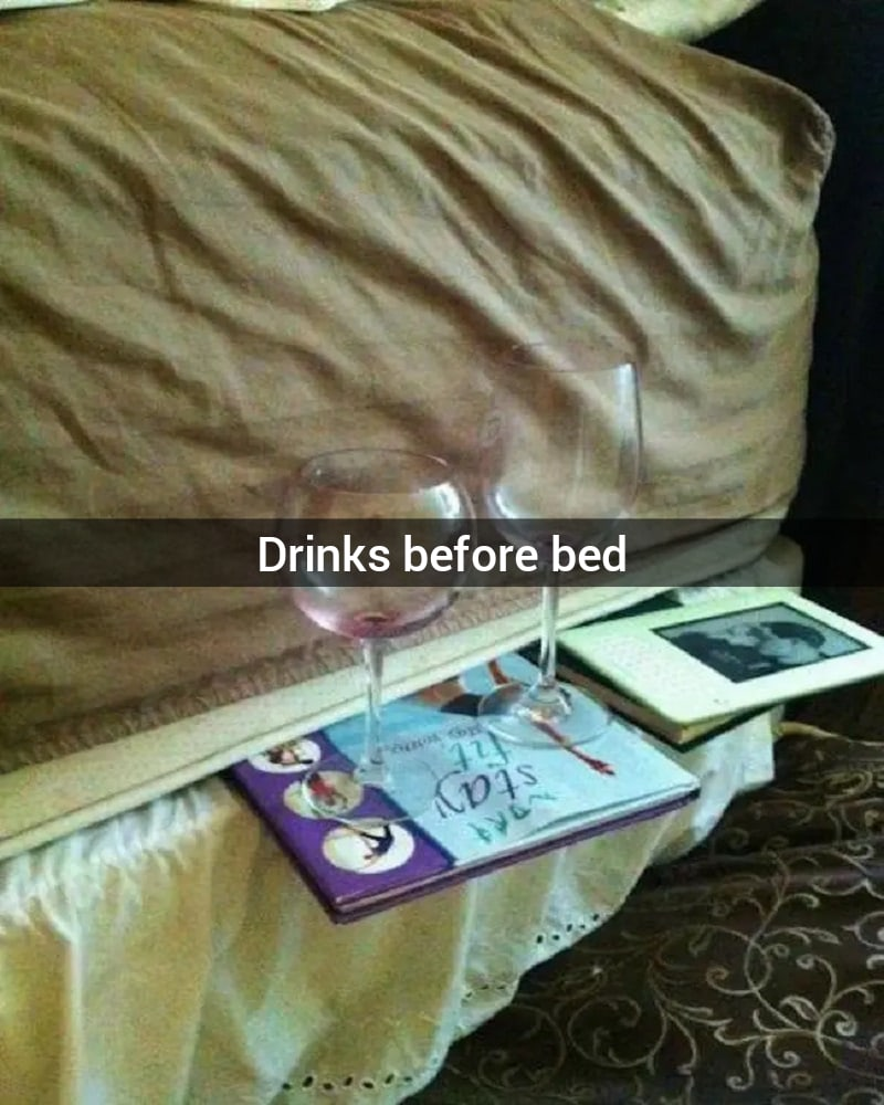 Drinks In Bed