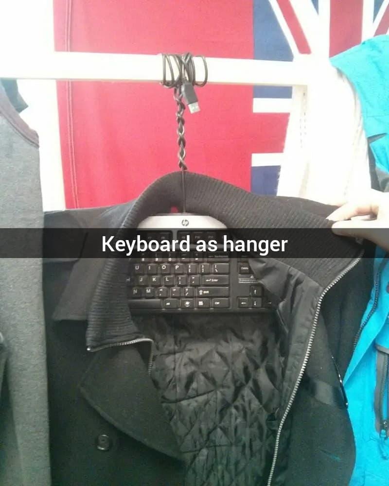 The Makeshift Hanger