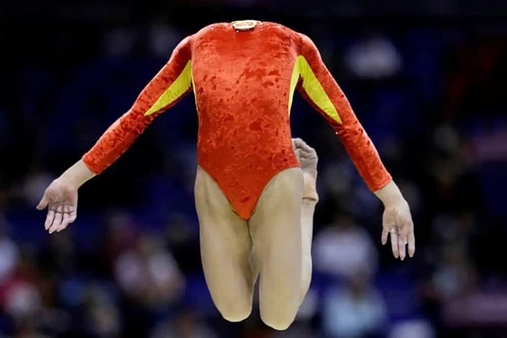 Gymnastics Just Got Creepy
