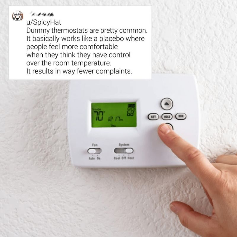 Dummy Thermostats